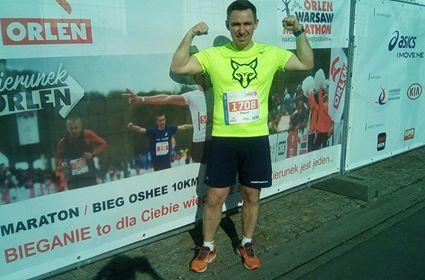 Orlen Warsaw Marathon 2018 -Maratończyk – Paweł Krawiec Krawczyk