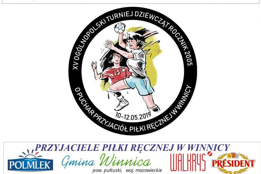 Terminarz XV Ogólnopolskiego Turnieju Dziewcząt Rocznik 2005 o Puchar Przyjaciół Piłki Ręcznej w Winnicy