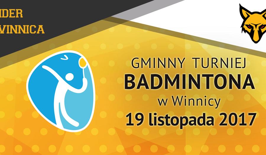 Turniej badmintona w Winnicy