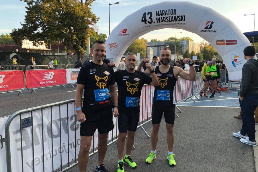 Maraton to szkoła życia – relacja z 43 Maratonu Warszawskiego (26.09.2021r.)