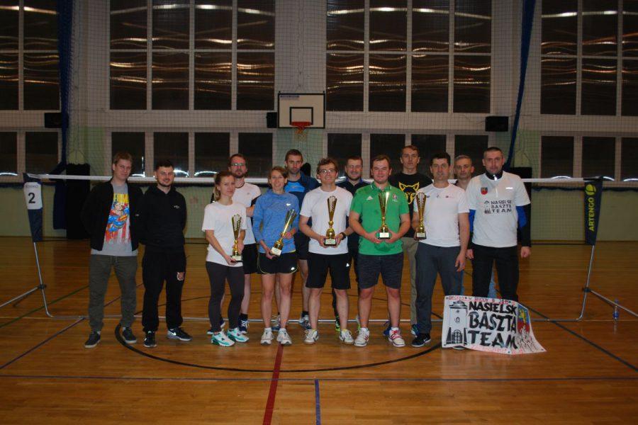 Wyniki turnieju badmintona w Winnicy